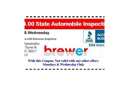 nc state inspection coupons raleigh