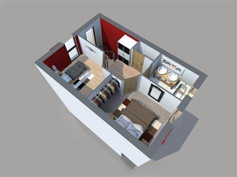 Plan Appartement 65m2 by Plan Maison 65m2 2 Chambres Gratuit Plan N 176 51 Univia