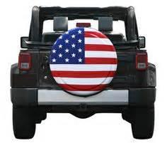 Captain America Jeep Tire Cover 32 Quot Captain America Style Shield Spare Tire Cover Molded