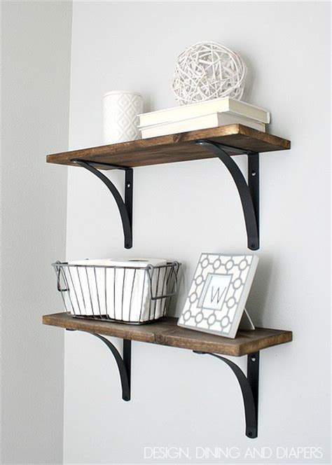 Shelf Bracing by 60 Ways To Make Diy Shelves A Part Of Your Home S D 233 Cor
