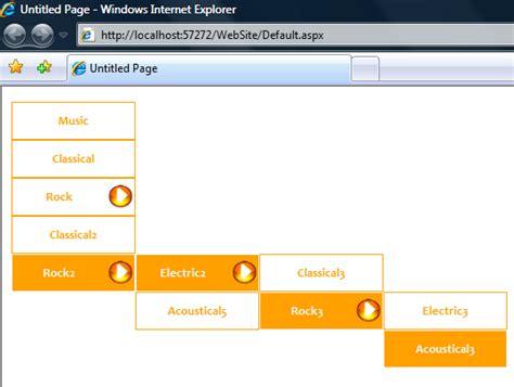 design menu asp net asp net menu parent menuitem highlighting codeproject