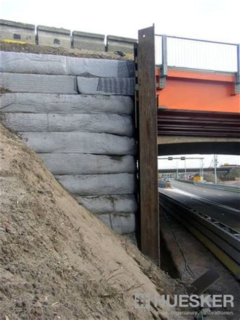 fortrac® natur geosynthetic reinforced soil system