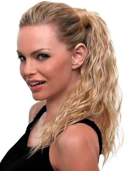 clip on bangs hairstyles with ponytail synthetic clip in wavy ponytail black ponytail hairstyles