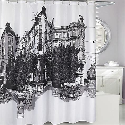 paris curtains bed bath beyond paris fabric shower curtain bed bath beyond
