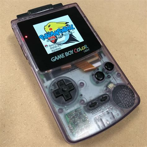 gameboy color mods custom backlit boy color ags 101 mod esotericmods