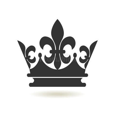 Setelan Annbebie I White Crown estilo liso do 237 cone da coroa autoridade da monarquia e