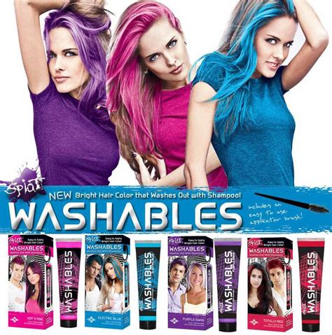 Wash Out Hair Color by Splat Hair Dye Review Haircolortrends