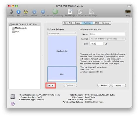 format external hard drive mac mountain lion how to partition a hard drive on mac os lion
