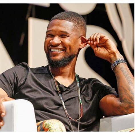 usher be usher makes secret political message at bet awards axs