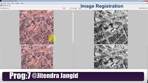 image registration image registration with matlab image processing code