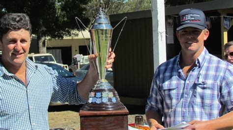Hrcn Outfitters Hound H 6158 Two Trainers Claim The Spoils The Scone Advocate