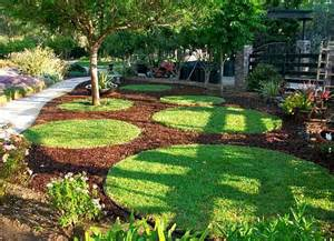 Mulch Backyard Adding Life To Your Outdoor Home With Colored Mulch