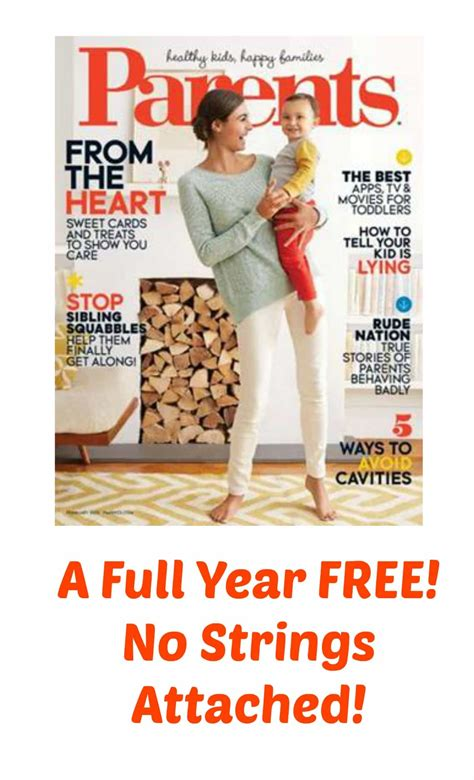 Free Money Giveaway No Strings Attached - pick up a free year of parents magazine no strings attached i don t have time for that