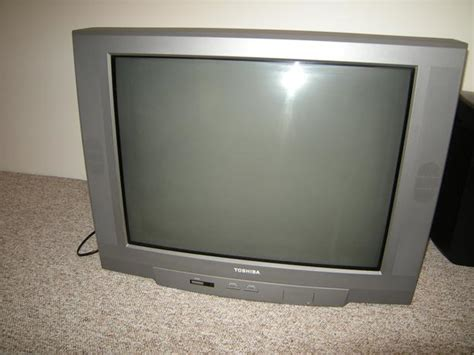 Tv Toshiba 21 Flat free 27 quot toshiba tv mint oak bay