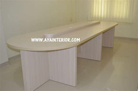 Meja Komputer Palembang jual meja meeting kantor harga murah palembang oleh aya interior