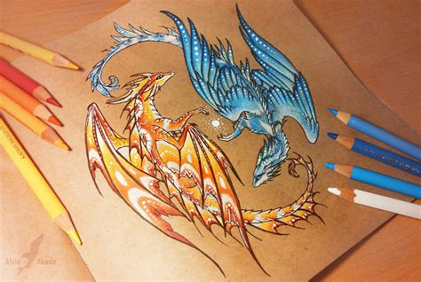 fire and water tattoo balance of water and by alviaalcedo on deviantart