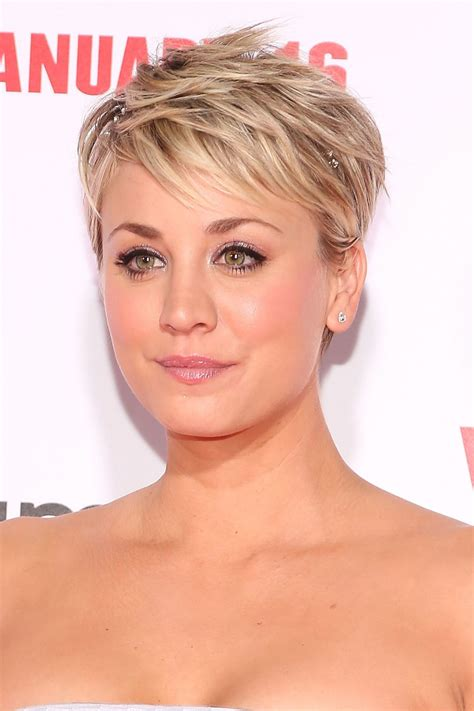why kaley cucoo cut her hair how kaley cuoco bypassed the awkward stages in growing out