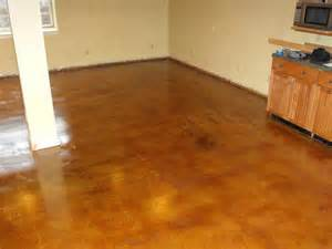 Nick Flooring by Concrete Floor Photo Stained