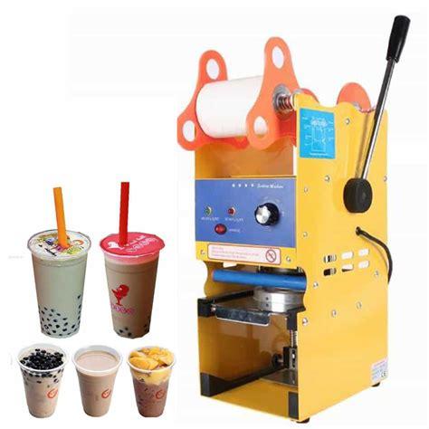 Alat Pres Plastik Mini Mini Sealer cup sealer alat pres gelas plastik manual dan otomatis ramesia mesin indonesia
