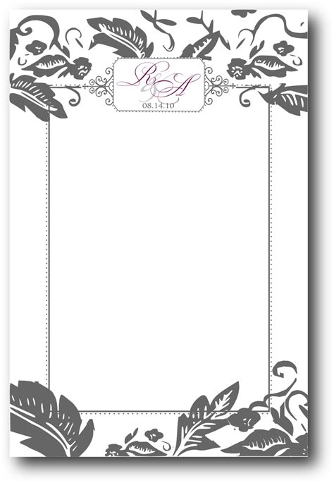 fancy card template idea fancy restaurant menu borders