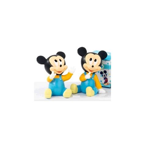 Decoration Bapteme Mickey by Drag 233 Es Bapt 234 Me Baby Mickey 7 5 Cm Drag 233 E D Amour