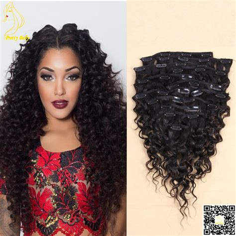 remy wave hair extensions wave clip in human hair extensions malaysian