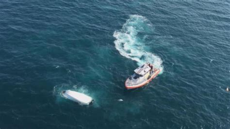 boat capsized group thankful to be alive after boat capsized off south