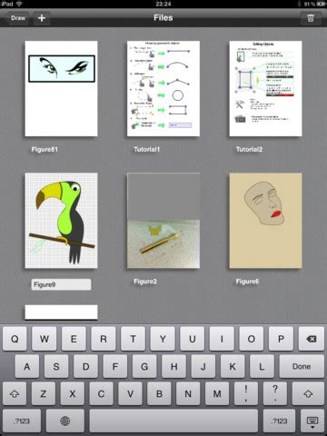 draw a one touch hd graphic drawing app for ipad [free]