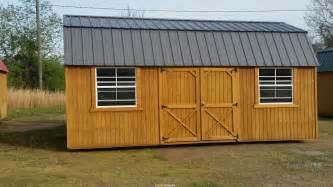 10 x 20 side lofted barn express carports