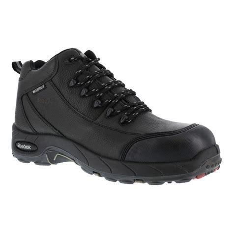 sport boots c reebok rb4555 tiahawk mens black waterproof comp toe sport