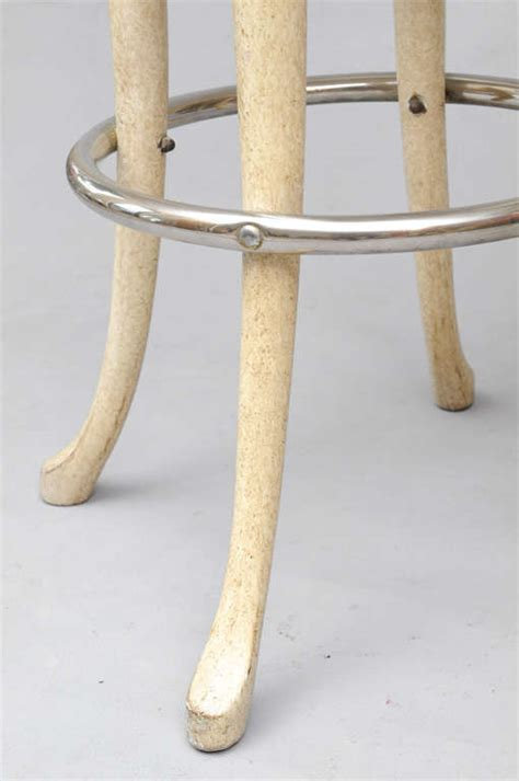 High Top Bar Table And Stools by Marge Carson Elephant High Top Bar Table And Stools At 1stdibs