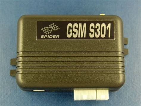 Alarm Mobil Spider spider s301 gsm mobilesoft gps