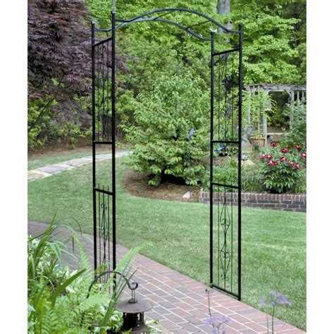 10 Ft Garden Trellis Gardman Charleston 7 5 Ft Metal Arch Arbor Create An