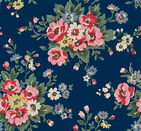 flower wallpaper zip download folk flowers pretty bunches of colourful folksy