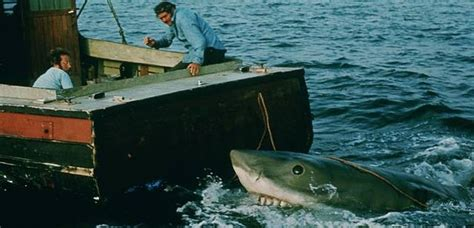 Kaos Keren Jaws 1975 Shark Classic jaws when sharks and two notes in particular were terrifying in classic fm