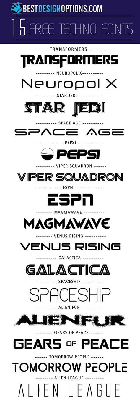 techno font free techno futuristic fonts