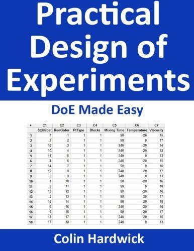 experimental design made easy buy special books practical design of experiments doe