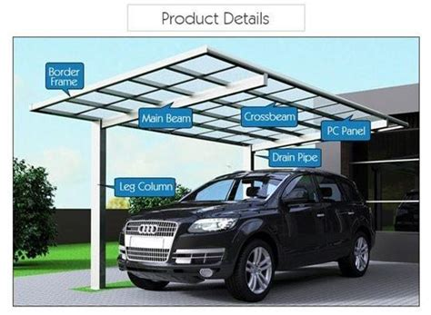 metal awnings for cars carport canopy aluminum welcome to banhai1 com