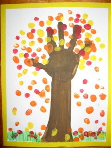 fall crafts with 25 autumn craft ideas