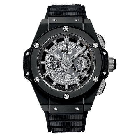 Hublot Senna Silver Black hublot king power unico black magic 701 ci 0170 rx ceramic