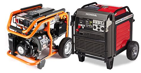 portable generators ratings