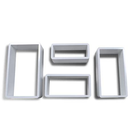 mensole cubo articoli per set bianco 4 mensole cubo vidaxl it