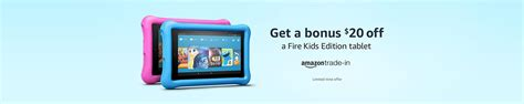 Amazon Fire Gift Card - 20 bonus amazon gift cards for amazon fire kids edition tablets always promo off