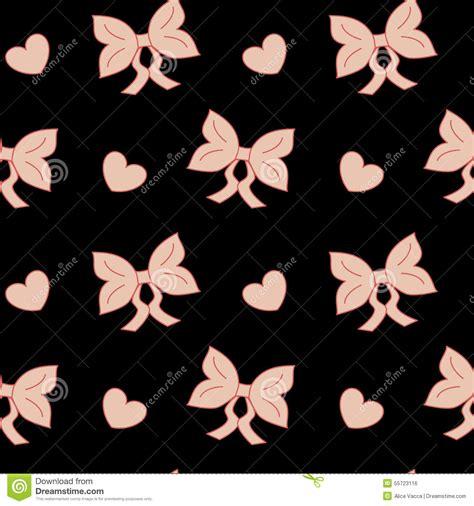 wallpaper ribbon cute pastel pink bow ribbon cute seamless pattern stock vector