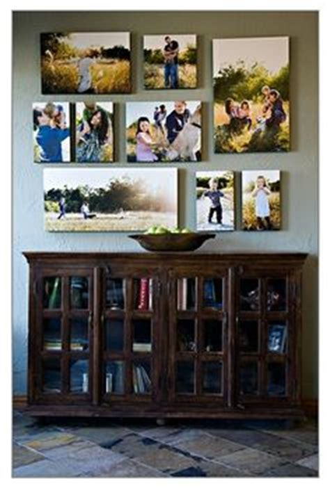 wall how to arrange your photos on