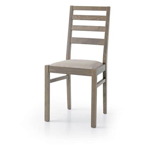 sedie rivestite in tessuto set sedie meggie gambe rovere grigio seduta tessuto