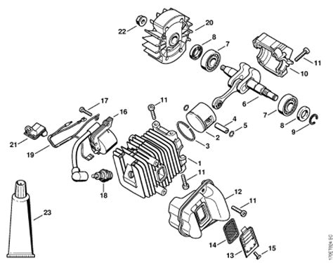 stihl ms 310 parts diagram stihl ms 310 chainsaw parts diagram quotes