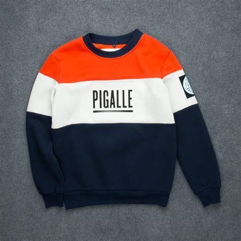 pigalle hoodies pigalle box logo couples hoodie patchwork sweatshirts pigalle hoodies
