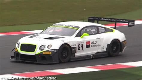 bentley continental gt3 r racecar bentley continental gt3 amazing sound epic racecar