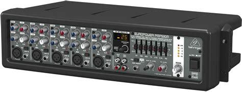 Mixer Behringer Mini behringer pmp530m ultra compact 300 watt 5 channel powered mixer